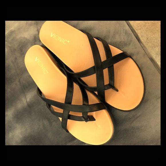 7ad1b7df803f Vionic Palm Daisy Toe-Post Sandal Size 8.5M. M_5ce34e6b969d1f13ed89990e